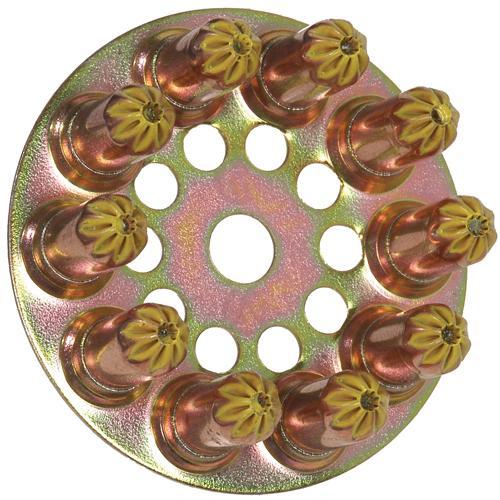 Spit Yellow Disc Cartridges (100pc)