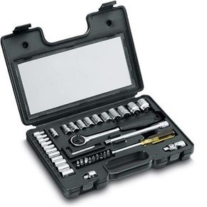 "Stanley 1/4"" 3/8"" Metric Socket Set (40pcs)"