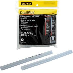 Stanley 100x12mm Dual Melt Glue Sticks (24pk)