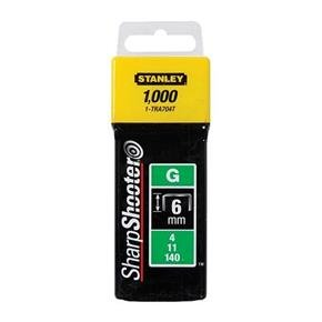 Stanley 6mm Heavy-Duty Staples (1000pk)