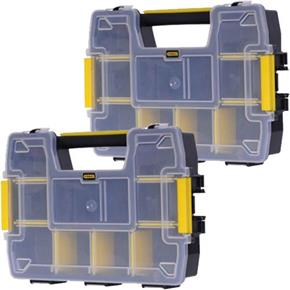 Stanley SortMaster Light Organiser Twin Pack