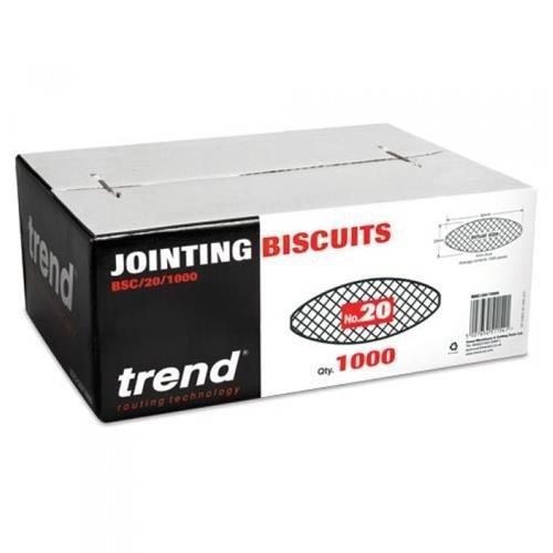 Trend BSC/20/1000 No.20 Biscuits (1000pcs)