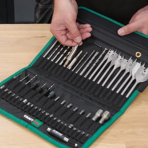 Trend CraftPro Quick-Release Bit Set (60pcs)