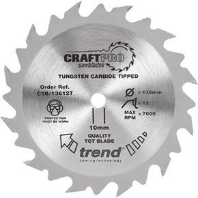 Trend CSB/13624T CraftPro Thin Sawblade