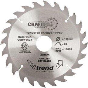 Trend CSB/16024 CraftPro Sawblade