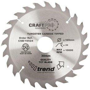 Trend CSB/16524 CraftPro Sawblade