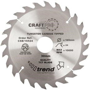Trend CSB/18424 CraftPro Sawblade
