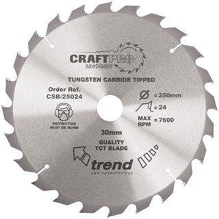Trend CSB/25024 CraftPro Sawblade