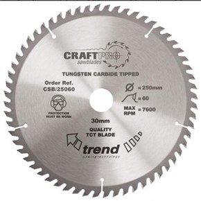 Trend CSB/25060 CraftPro Sawblade