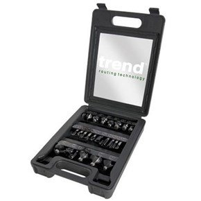 Trend SET/SS24X1/4TC Cutter Set (24pc)