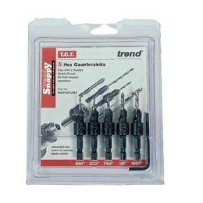 Trend Snappy SNAP/CS/SET HSS Countersink Set