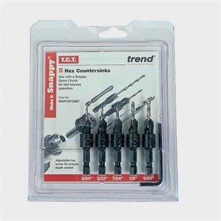 Trend Snappy SNAP/CSTC/SET Countersink Set (5pc)
