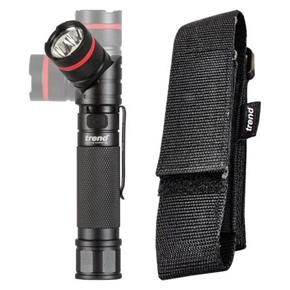 Trend Rechargeable LED Angle Twist Torch with UV Light