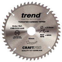 Trend TCT Saw Blades