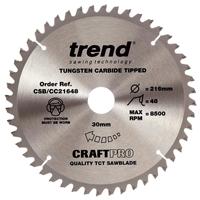 Trend TCT Saw Blades