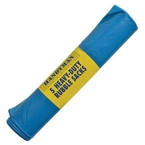 Reusable Heavy-Duty Rubble Sacks 100x75cm (5pk)