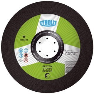 Tyrolit 223029 DPC Stone Cutting Disc 178x3x22.23mm