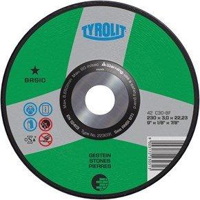 Tyrolit 223031 DPC Stone Cutting Disc 230x3x22.23mm