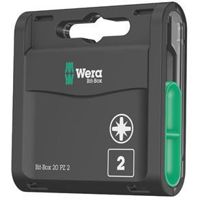 Wera PZ2 Bit-Box (20pcs)