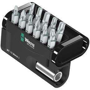 Wera Screwdriver Bit Set (12pcs)