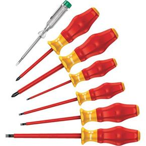 Wera Kraftform Comfort VDE Screwdriver Set (7pcs)