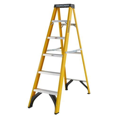 Youngman 6-Tread Fibreglass Ladders
