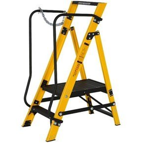 Youngman 2-Tread Megastep Stepladders 0.43m