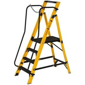 Youngman 4-Tread Megastep Stepladders 0.85m