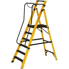 Youngman 6-Tread Megastep Stepladders 1.28m