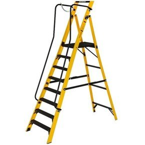 Youngman 8-Tread Megastep Stepladders 1.7m
