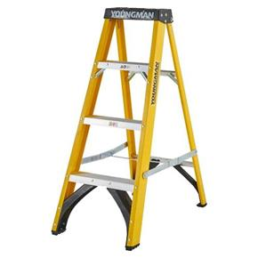 Youngman 4-Tread Fibreglass Ladders