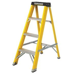 Youngman S400 GRP 4-Tread Stepladder 2.04m